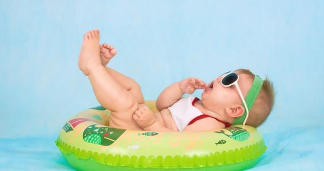 terapi renang untuk bayi