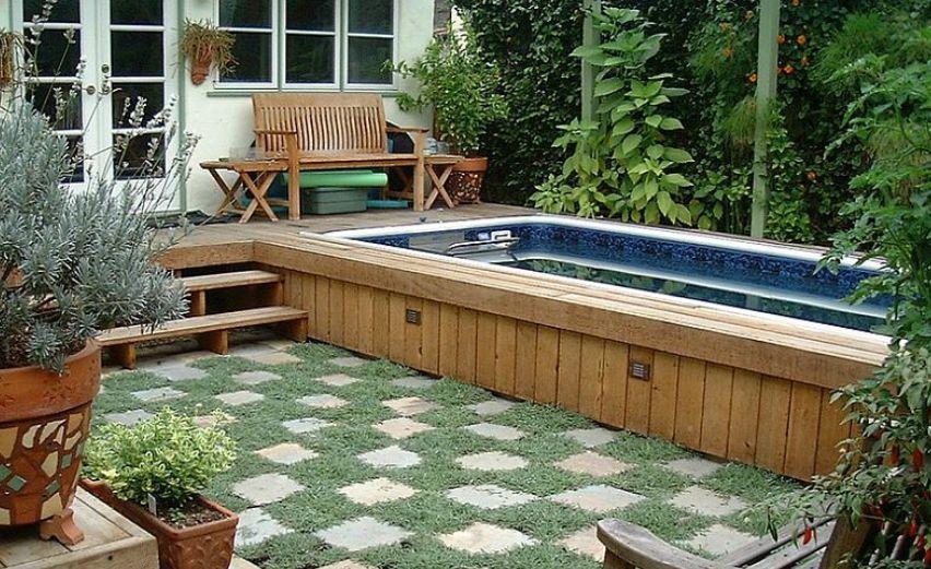 membuat kolam renang minimalis