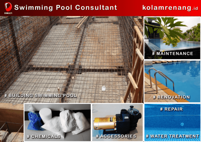 Swimming Pool Contractor - Kontraktor Kolam Renang