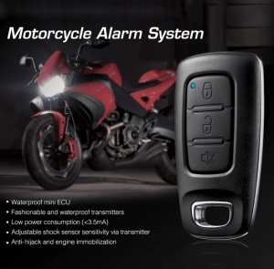 Remote Control of Alarm and Lamps for Motorcycle.(1)