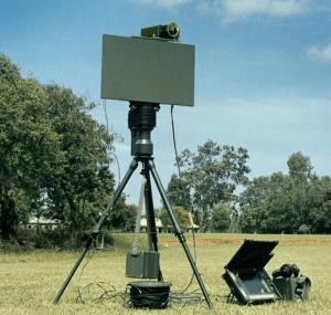 Portable Surveillance Radar, a movable and Small Radar Equipment..