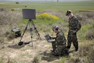 Portable Surveillance Radar, a movable and Small Radar Equipment.