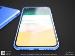 iPhone 8 News; iPhone 8 display prediction
