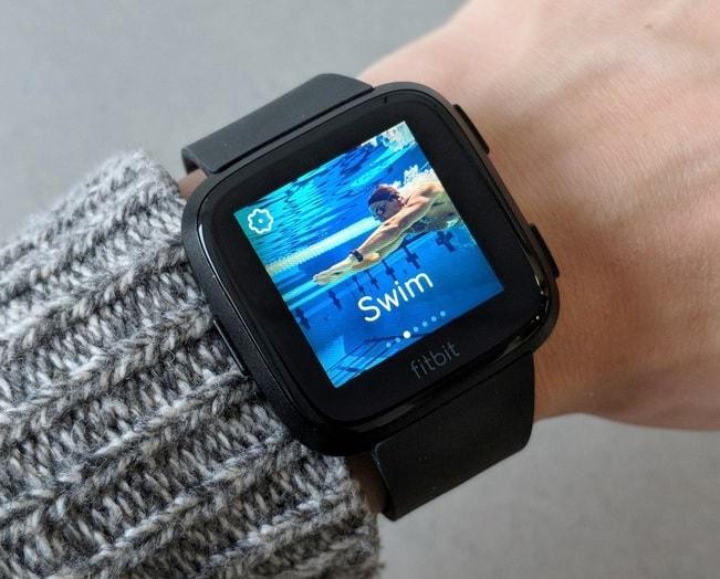 Fitbit Versa Watch Display