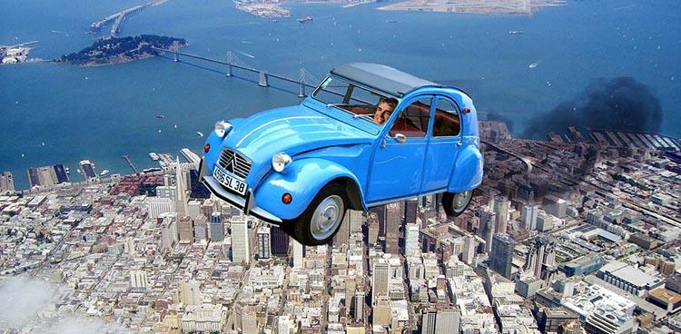 Мирослав Олењин : Летећи аутомобили