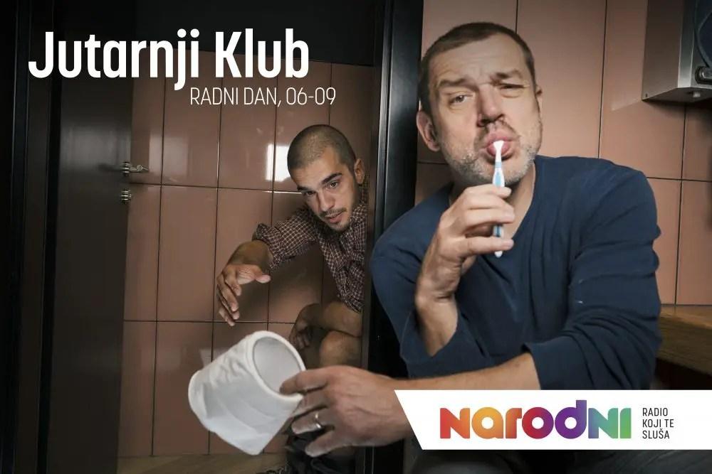 Hrvoje Kečkeš i Marko Bratoš Jutarnji klub Narodni