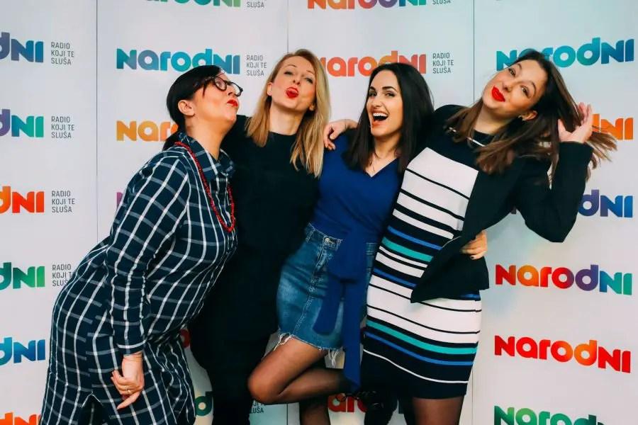 Sanja, Ana, Nives i Dora (foto: Dino Ninković)