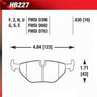 Hawk HB227.630