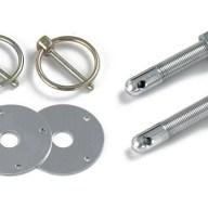 Longacre Steel Hood Pin Kit
