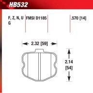Hawk HB532.570