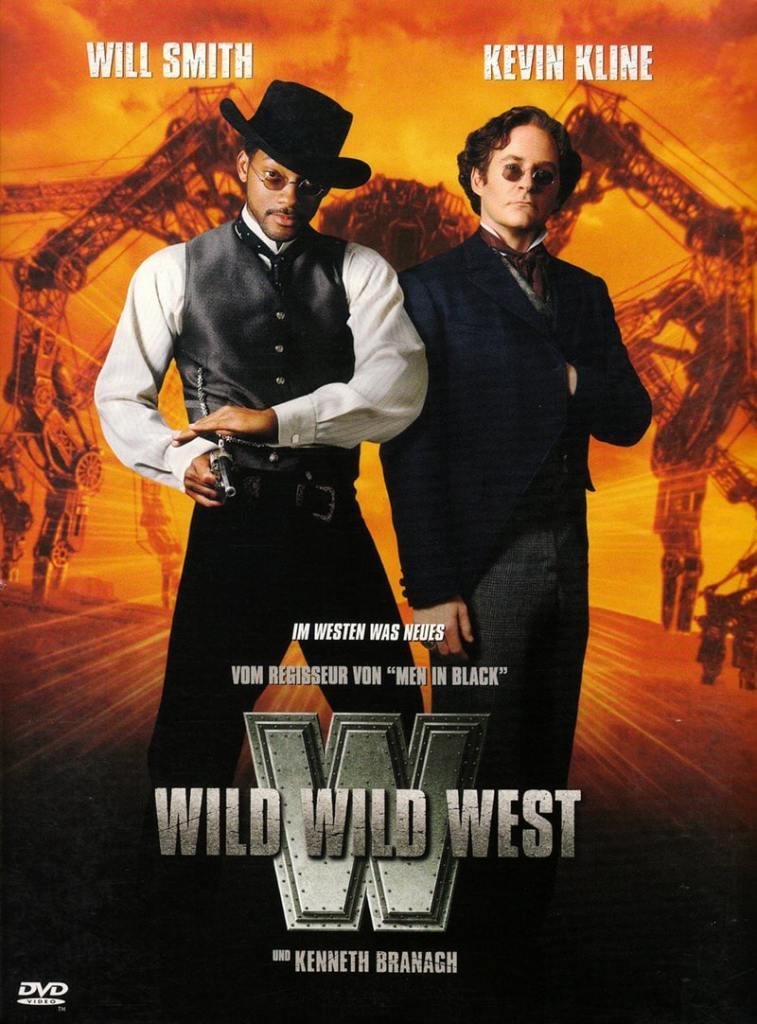 Affiche du film Wild Wild West, un western Steampunk
