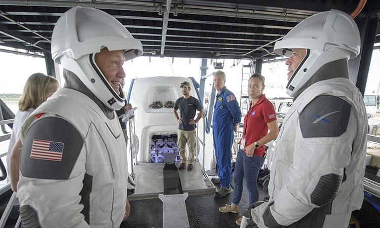 SPACEX PREPARA SU PRIMER VIAJE A LA ESTACIÓN ESPACIAL INTERNACIONAL