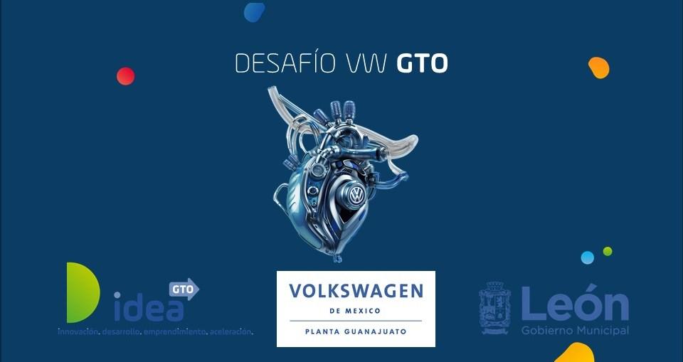 """IDEA GTO EN CONJUNTO CON VW Y MUNICIPIO DE LEÓN LANZAN CONVOCATORIA """"DESAFÍO VW GTO"""""""