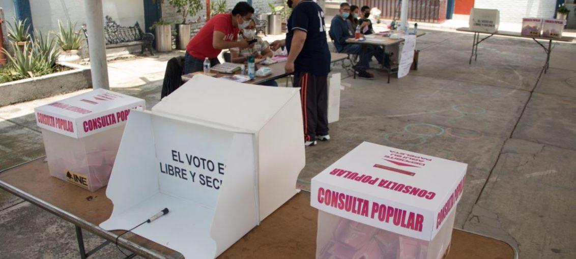 INE REPORTA 476 INCIDENTES DURANTE CONSULTA POPULAR
