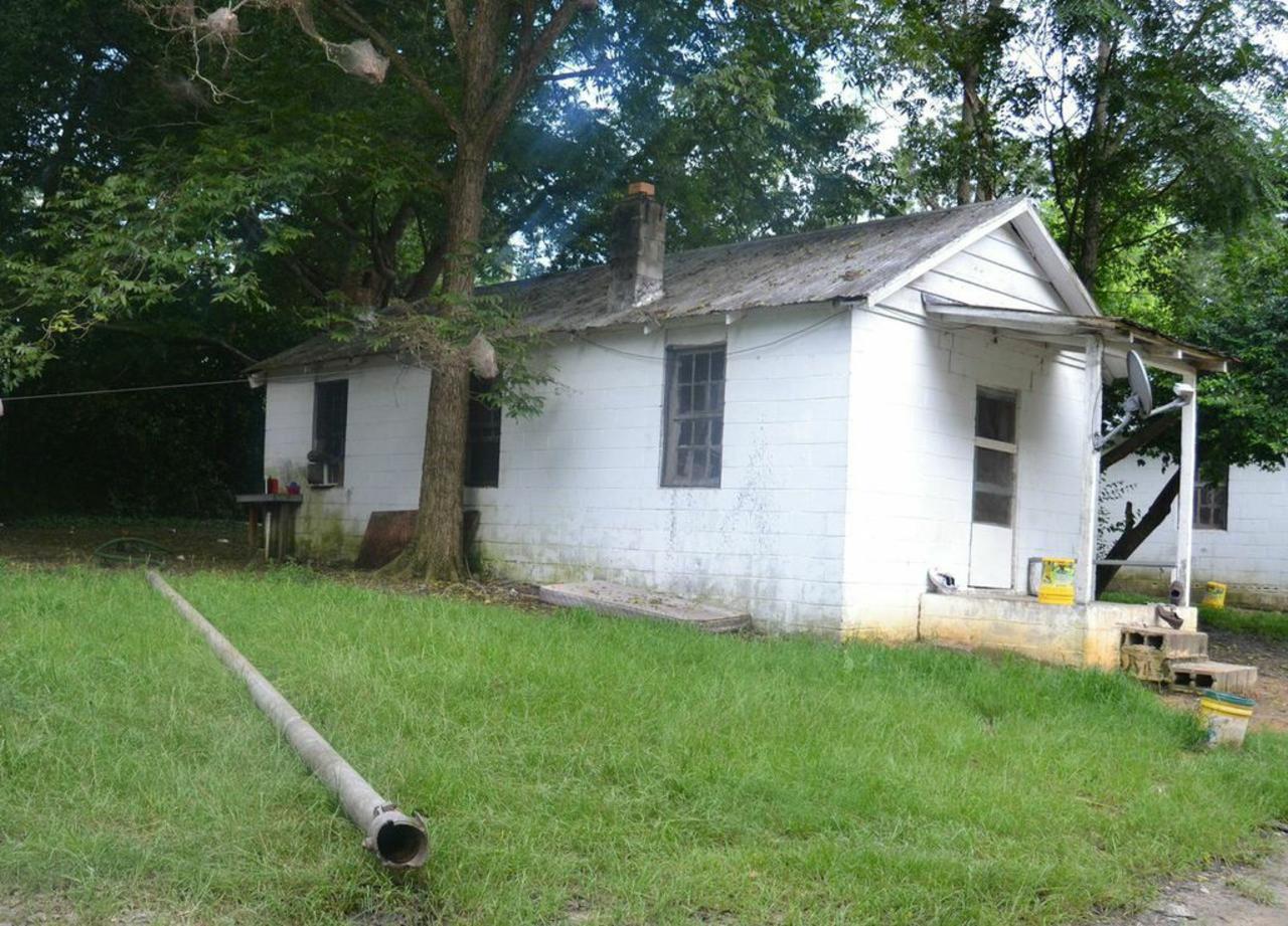 A migrant farmer's home in North Carolina.