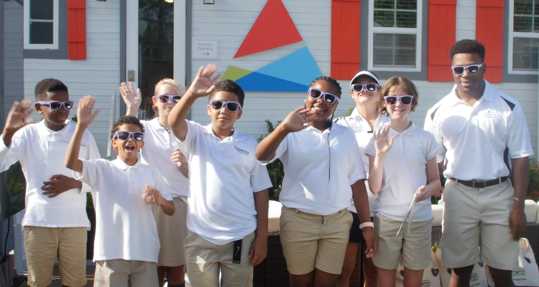 East Lake Foundation: Drew Charter School Students visit the PGA TOUR Championship