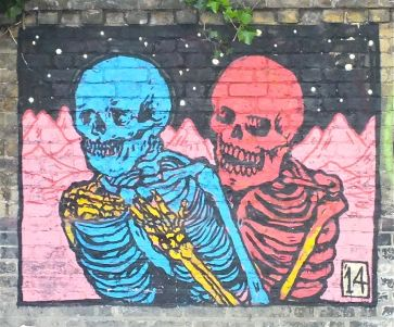 Graffiti 6 - Skeletons