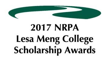 2017 NRPA Lesa Meng Scholarship Recipients