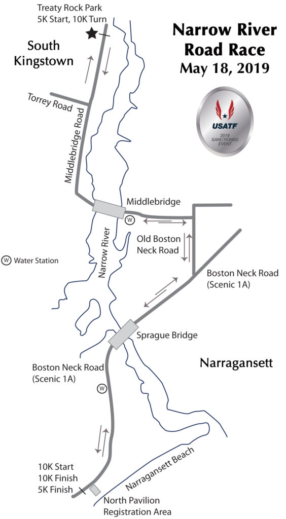 2019 Narrow River Road Race