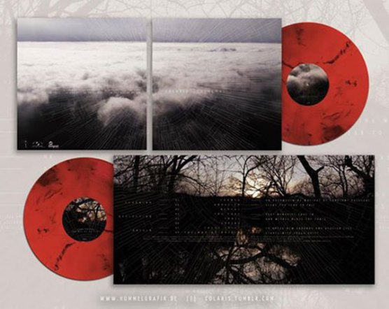 Red and black Vinyl