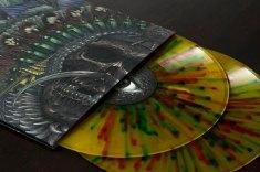 Multi-colour splatter Vinyl