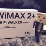 UQ-WIMAXにネット環境を変えました