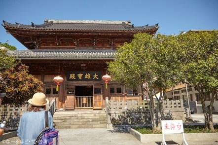 現在は台北市の市指定古蹟になっている臨済護国禅寺。