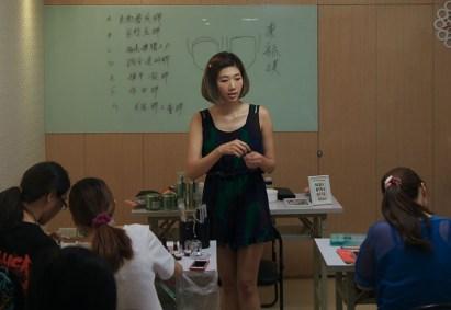 2. 台北で不定期的に開催しているネイルアートの講習会。