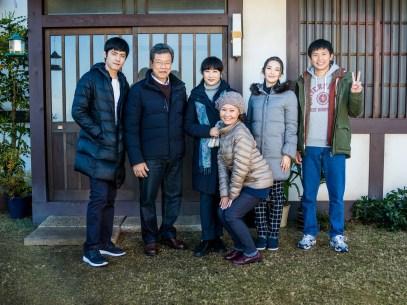 (左起)、楊烈、余貴美子、呂雪鳳、田中麗奈、姚淳耀 台日眾星共同演出 (1)