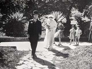 北埔での結婚式