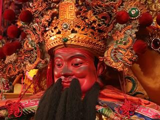 台南の古刹、頂土地公廟の福徳正神