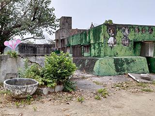 白色テロで監禁に使用された建物