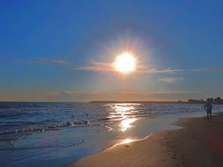 安平の海岸