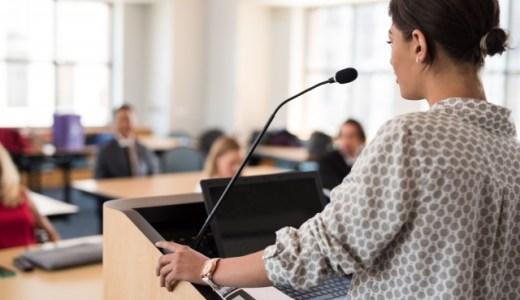 【体験談】研修会やセミナーで講師が冒頭で伝えるべきこと6点を紹介!
