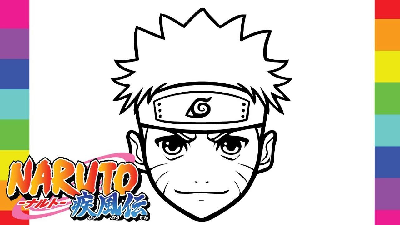 10 Desenhos De Naruto Para Baixar Imprimir E Colorir Naruto