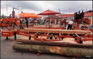 Wood Mizer stoisko z trakami