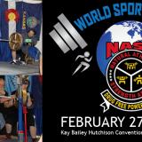 NASA Powerlifting at World Sports Expo Dallas!