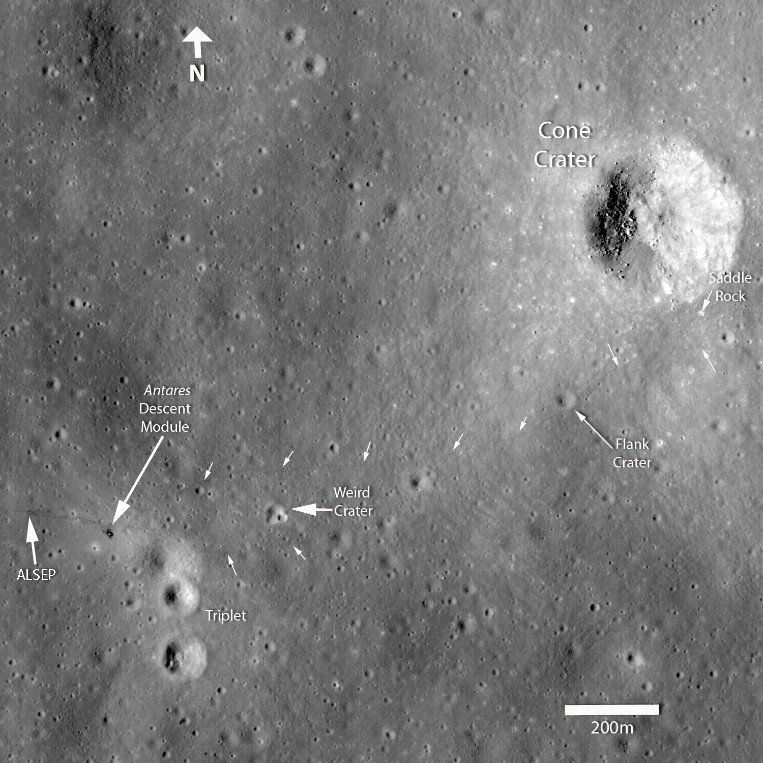 Nasa  Ten Cool Things Seen In The First Year Of Lro