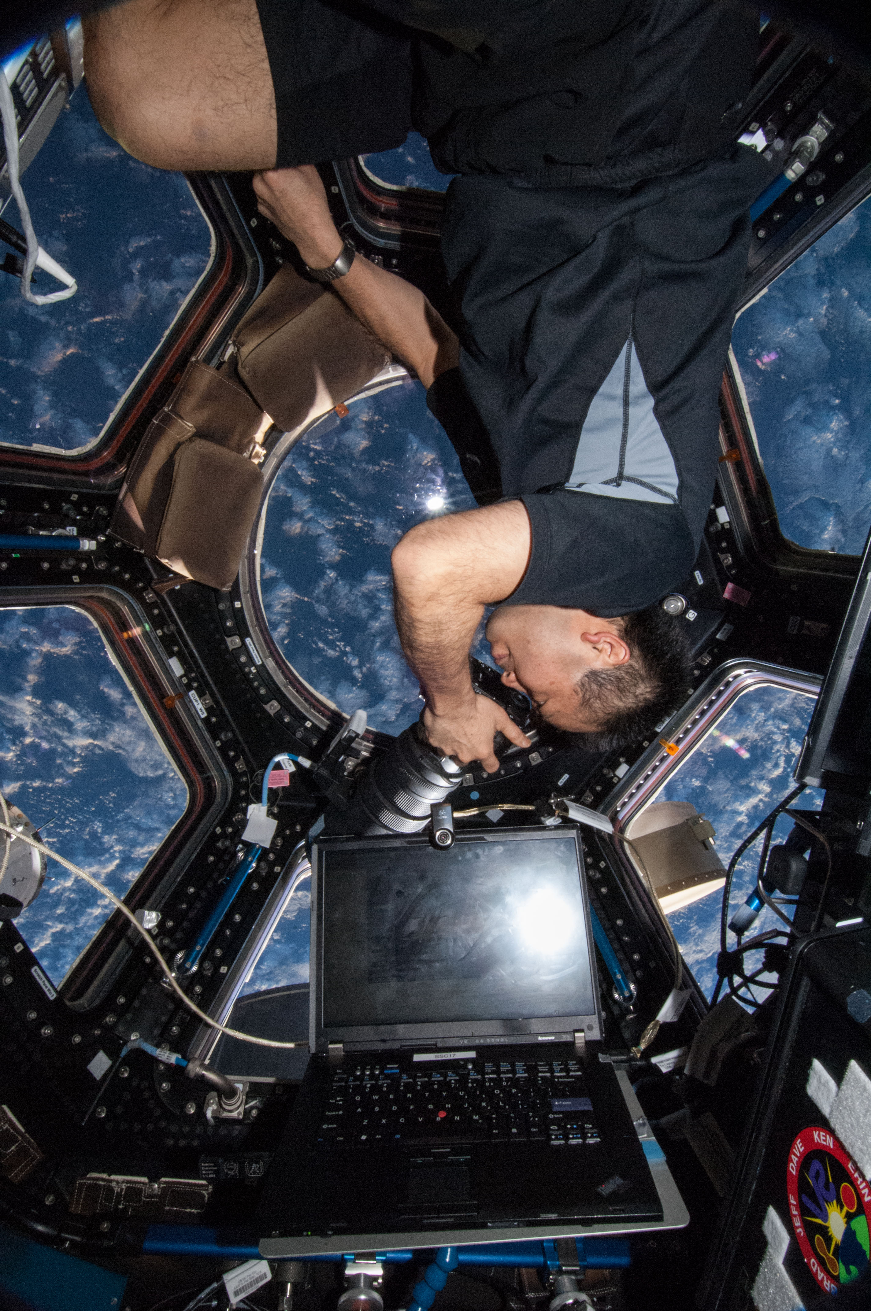 Iss International Space Station Cupola
