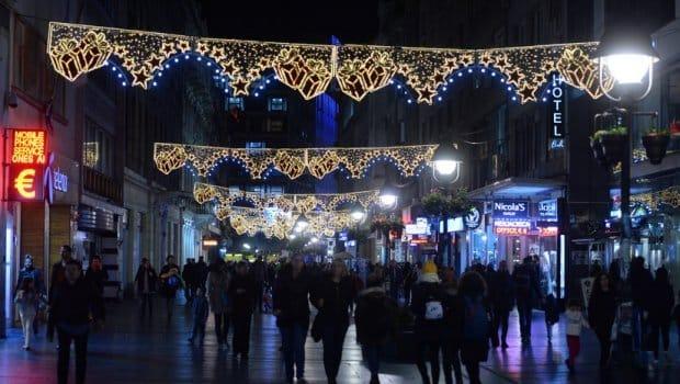 Novogodišnja rasveta u Beogradu biće uključena u petak 3