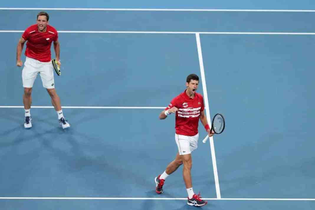 GOTOVO JE! Srbija je šampion ATP kupa! (FOTO) (VIDEO) 1