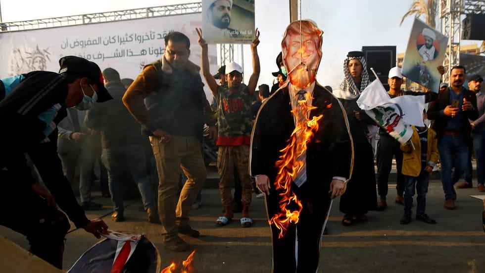 PROTESTI U IRAKU: Američki vojnici krvnički ubili Iranskog komandanta 1
