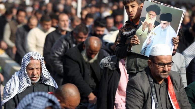 UŽAS: Hiljade ljudi oplakuje iranskog generala i zamenika šefa iračke policije 5