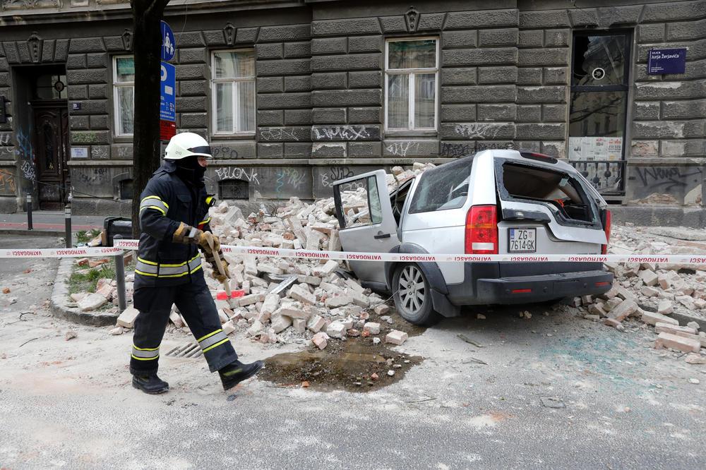 NOVI POTRES U ZAGREBU, ŠESTI OD JUTROS: Oštećeno 600 zgrada, 55 timova na terenu... 1