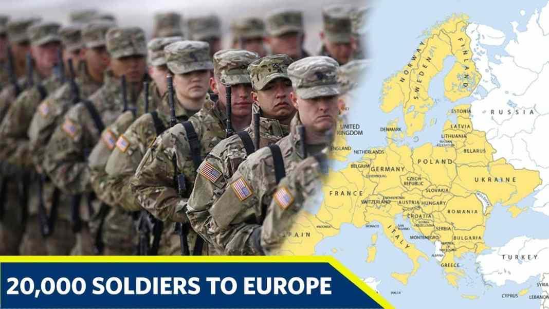 MEDIJI I EVROPSKA UNIJA STAVILI MASKE PREKO OČIJU: 30 000 američkih vojnika na tlu Evrope. Zbog čega? (VIDEO) 1
