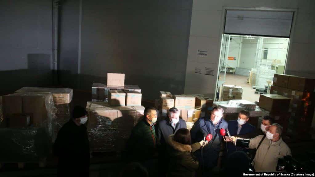 PRVI KONTIGENT POMOĆI SRPSKOJ: Srbija prva pritekla u pomoć RS 1