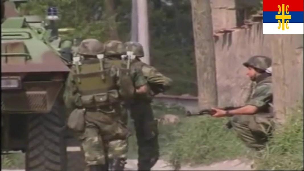LOV NA ŠIPTARSKE TERORISTE I OSLOBOĐENJE ORAOVICE! Snimak brutalne vojne akcije JSO (VIDEO) 1