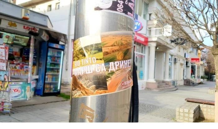 OSLOBOĐENJE: Rio Tinto marš sa Drine! Vučić ne štiti interes države! 1