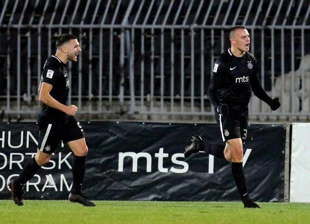 PARTIZAN TEŠKOM MUKOM DO 3 BODA: Crno-beli u 86. minutu probili Čukarički! 1