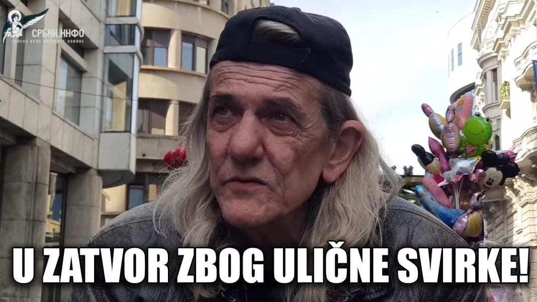 GLEDAJ SRBIJO: Vesić i Vučić ga teraju u zatvor zbog ulične svirke 1